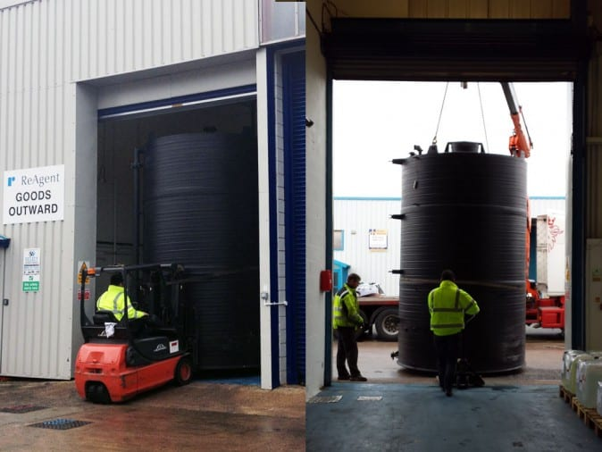 ReAgent Takes Delivery of New Water Storage Tank