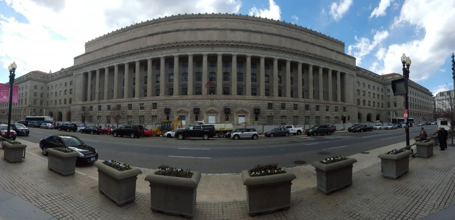 US Department of Commerce Exterior