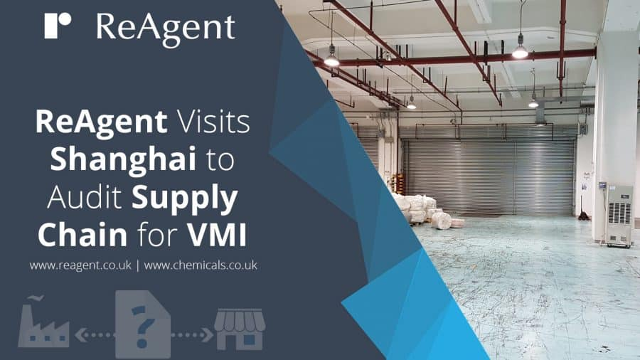 Reagent Visits Shanghai for VMI Supply Chain Audit