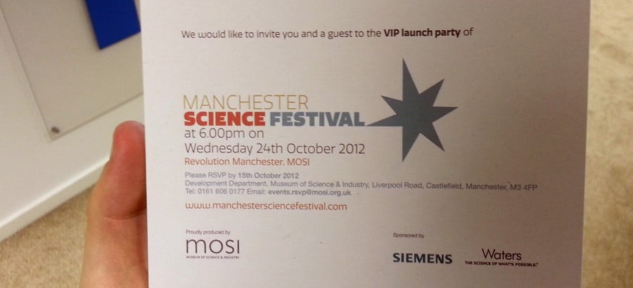 Manchester Science Festival Featured
