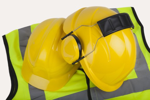 PPE-hi-vis-and-safety-helmets