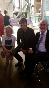 We were delighted to meet Professor Brian Cox