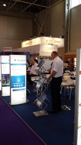 ReAgent was situated on the UKTI stand at Chemspec Europe