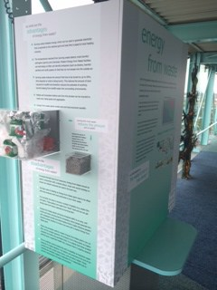 The environmental exhibition in the Observatory Gallery