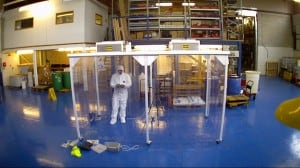 Cleanrooms installed by ReAgent