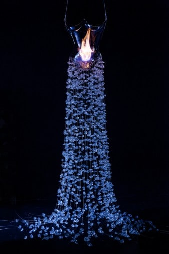 dress of glass and flame- image courtesy of UAL Research