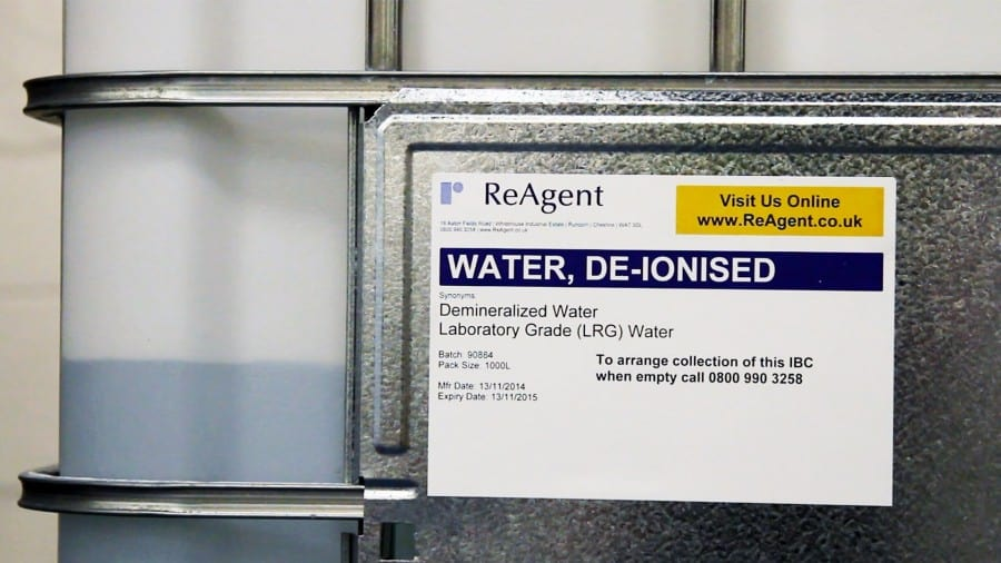 Everything You Ever Wanted To Know About Deionised Water