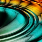 Colorful Oil Slick Ripples