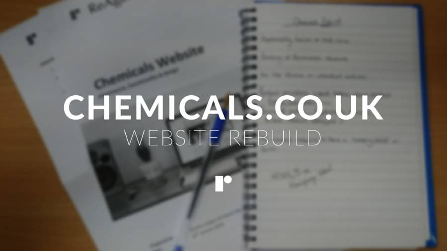 Chemicals.co.uk Rebuild