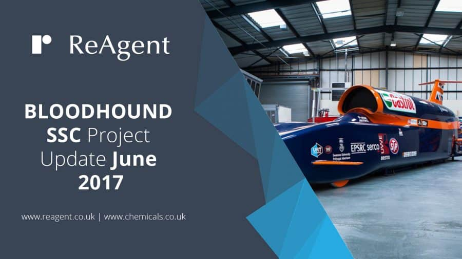 BLOODHOUND SSC Project Update | ReAgent Chemicals