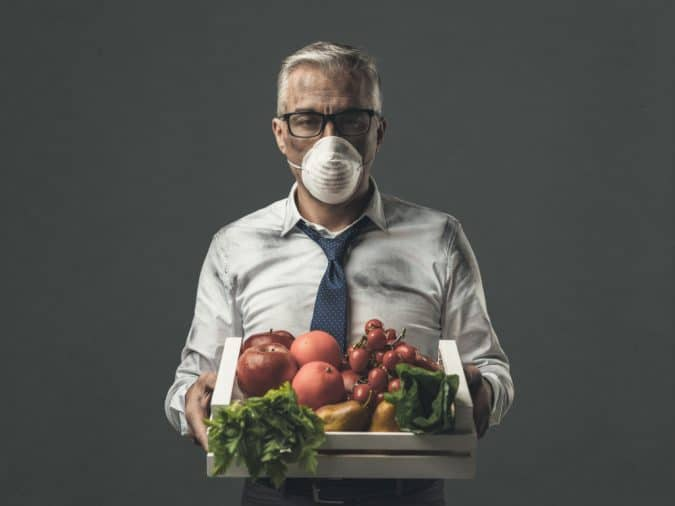 Fruits and vegetables are considered as healthy food but the risk of biological and chemical contamination is relatively high
