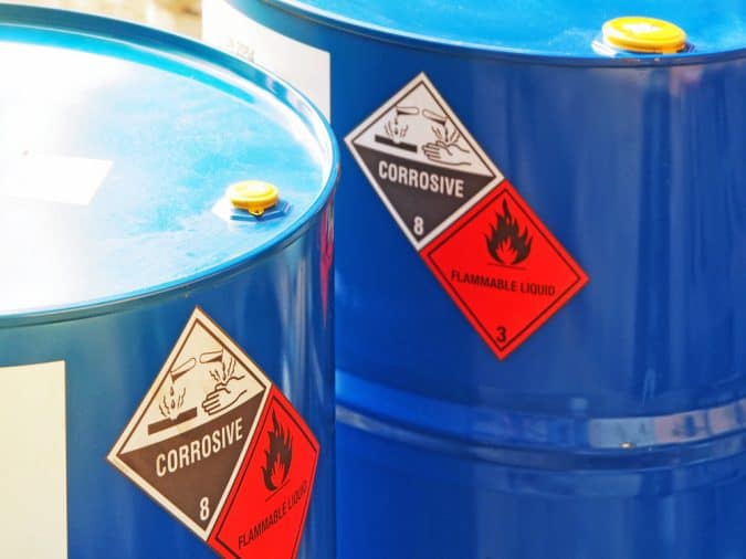 Labelling chemicals correctly is part of COSHH regulations