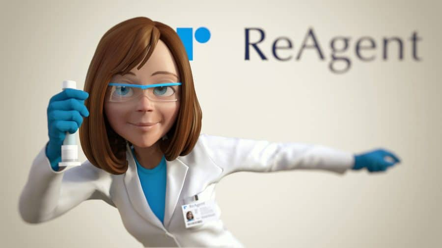 Rachel is ReAgent's chemist and video animation host