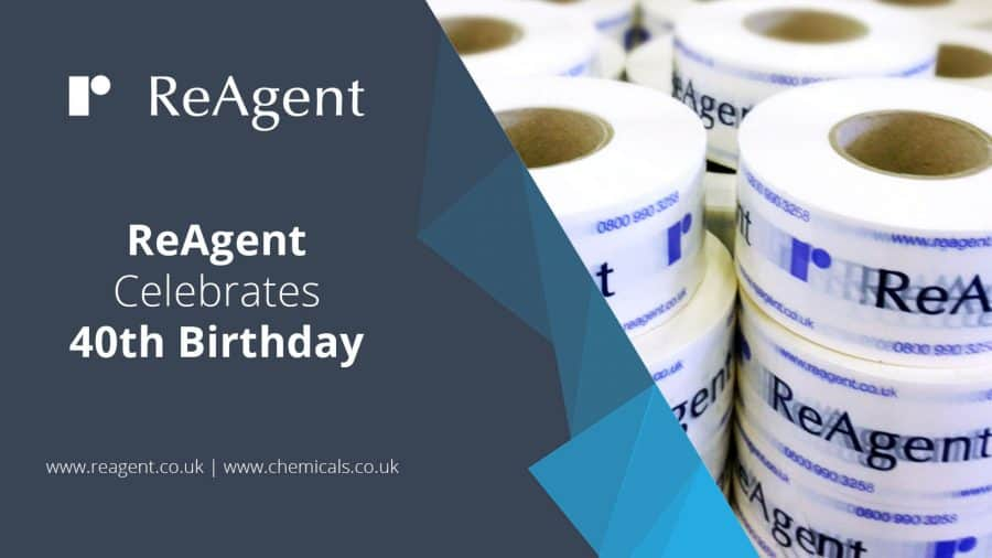 ReAgent Celebrates 40th Birthday | ReAgent Chemicals