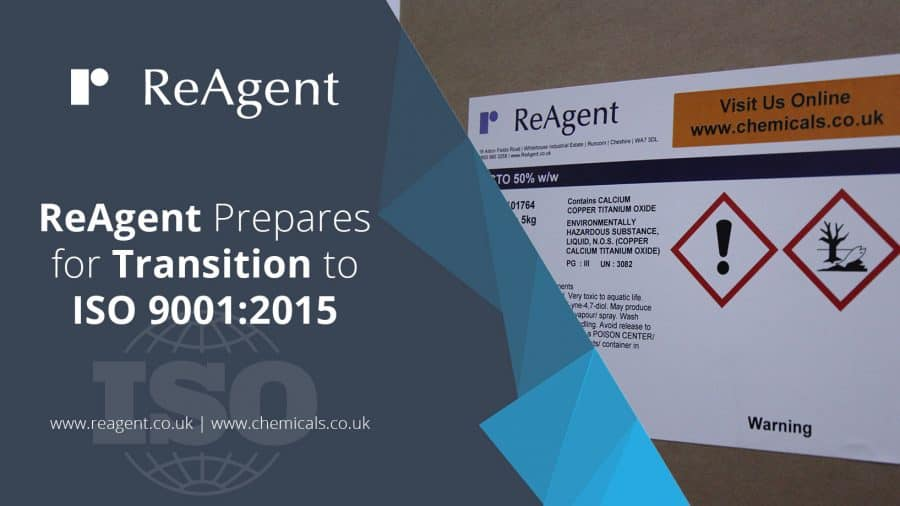 ReAgent Prepares for Transition to ISO 9001:2015