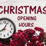 ReAgent and chemicals.co.uk Christmas opening and dispatch hours