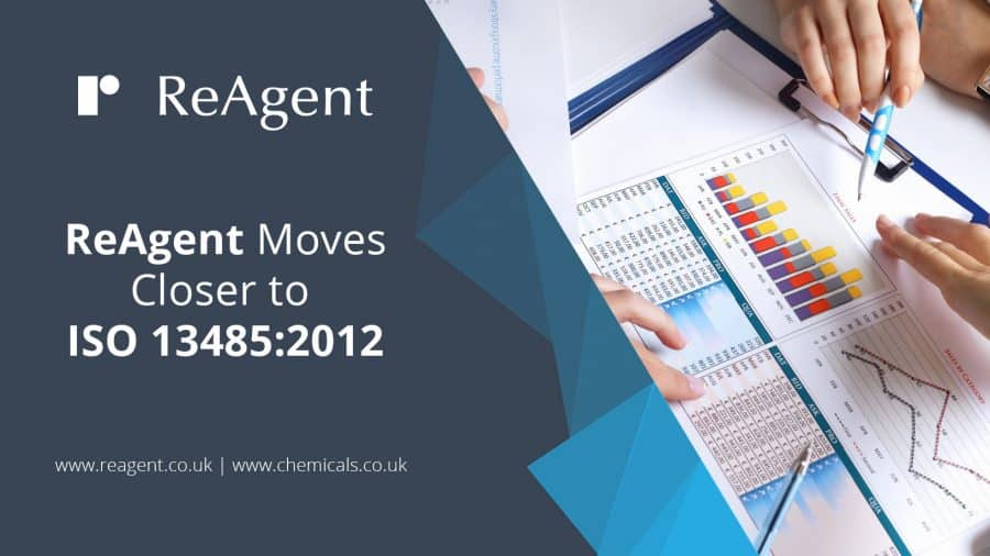 ReAgent moves closer to ISO 13485 2012
