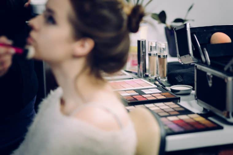 The UK's market share in the cosmetics industry