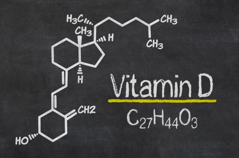 The chemical formula of vitamin D - C27H44O3