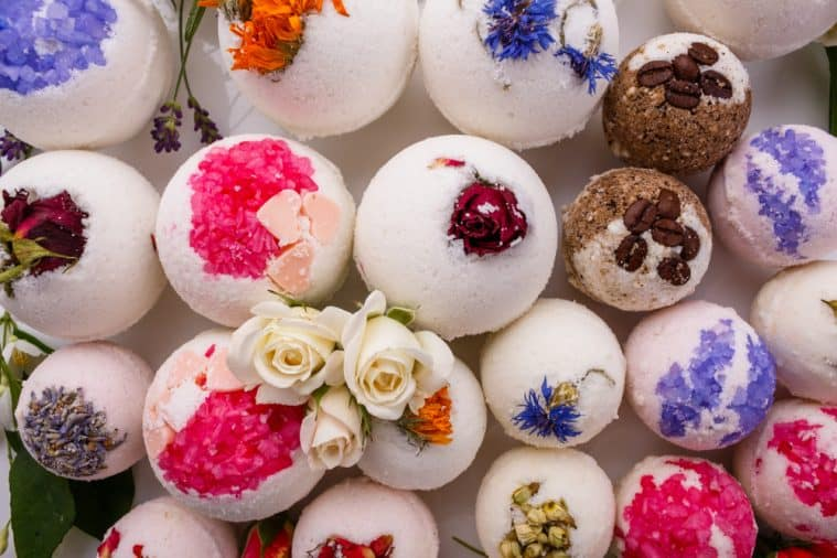 You can use all kinds of different ingredients in bath bombs and make them to suit you