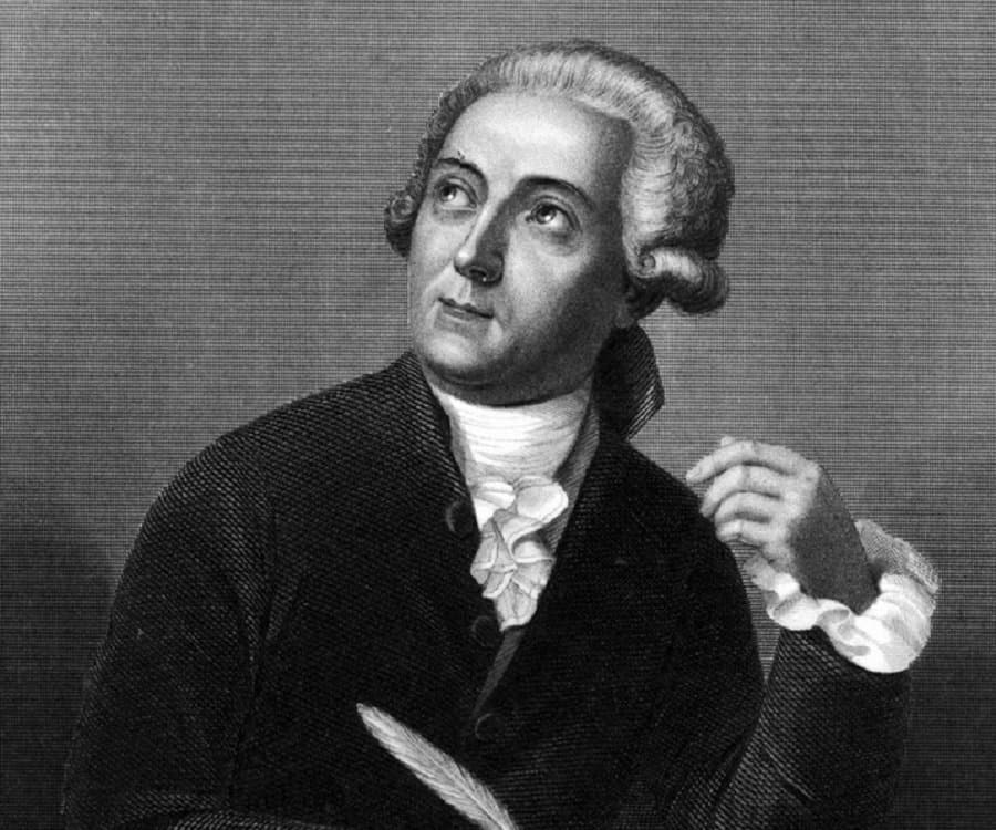 A black and white portrait of Antoine Lavoisier