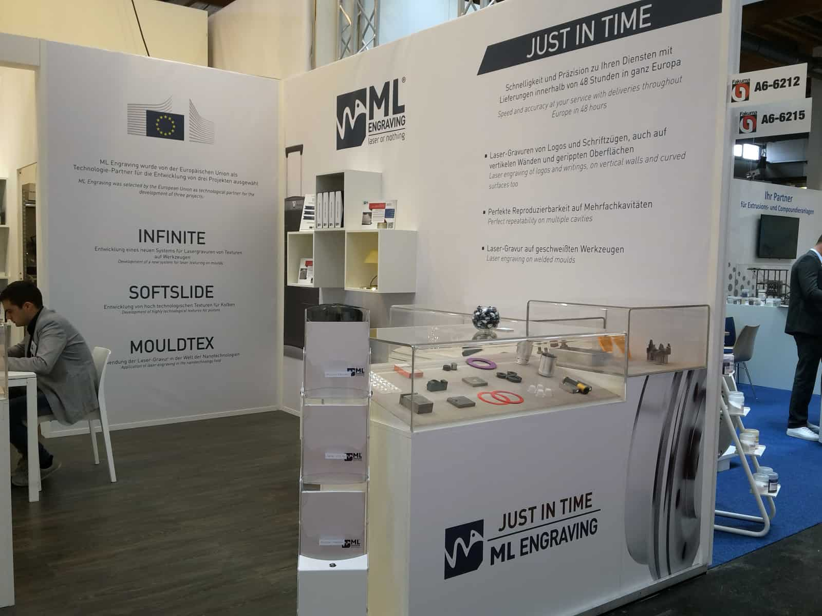 SoftSlide booth at Fakuma's International Trade Fair in 2017